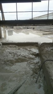 Bezinkput betonfabriek