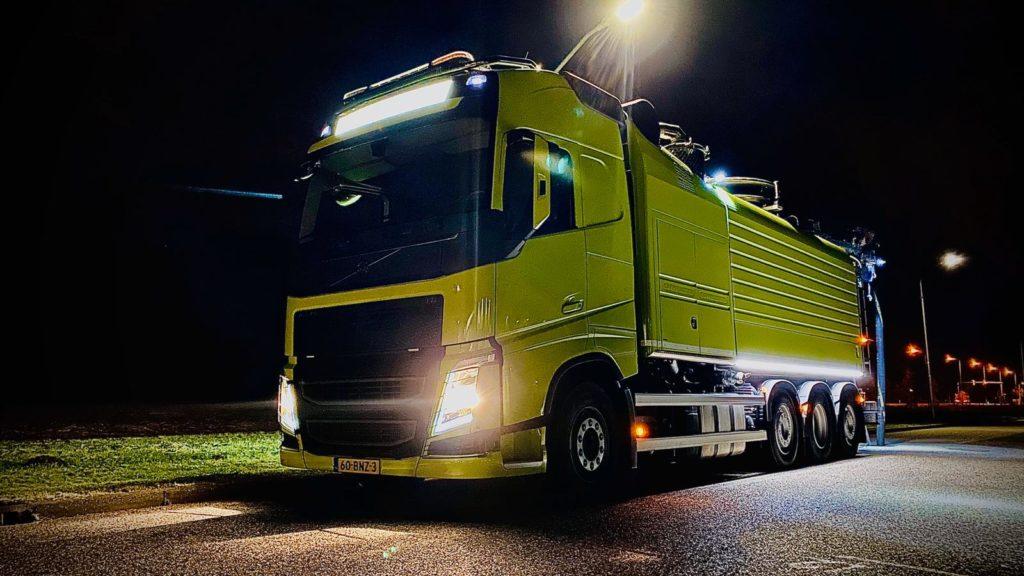 Combi vacuüm vrachtwagen Cappellotto