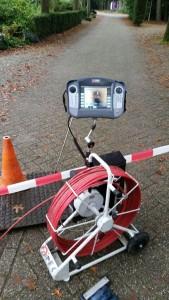 duw camera riool inspectie