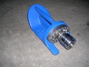 zandschoen spuitkop