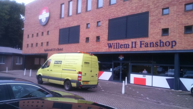 riolering reinigen Willem II