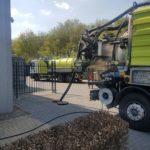 Riool reinigen combivrachtwagen